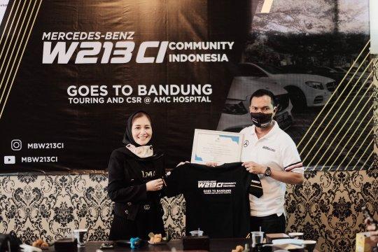 MBW213CI gelar turing perdana, dukung tenaga medis Bandung