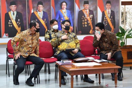 Komite COVID-19 dan PEN paparkan lima program ke Presiden Jokowi
