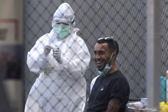 Usai Swab Test, pemain Bali United kembali jalani Rapid Test