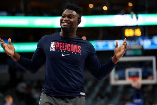 Zion Williamson segera gabung berlatih dengan Pelicans