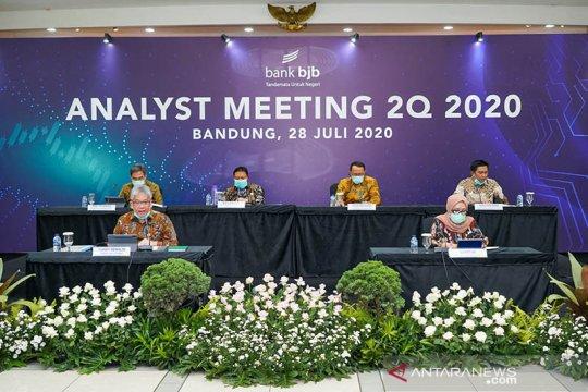 Triwulan II-2020, Bank BJB raih laba bersih Rp808 miliar