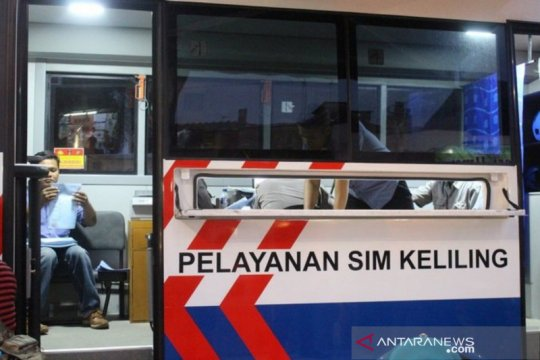 Senin, Polda Metro Jaya buka empat titik layanan SIM Keliling