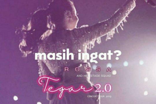"Rossa akan tayangkan konser ""Tegar 2.0"" Bandung secara daring"