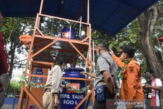Saat pandemi, BPBD Gorontalo produksi penyanitasi tangan dari nira