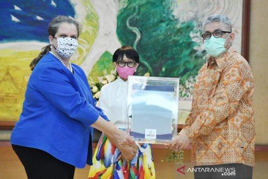 Indonesia terima 100 ventilator dan Rp187 M dari AS untuk atasi virus