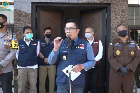 Denda tak pakai masker di Jabar Rp100 ribu hingga Rp500 ribu