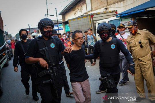 BNN gerebek gudang narkoba di Tangerang