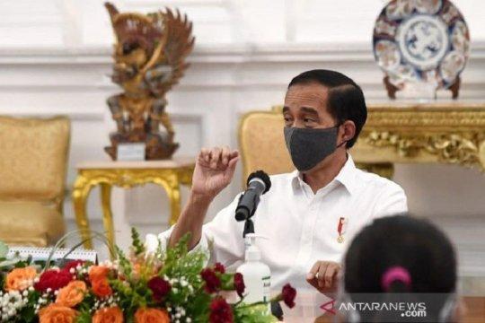 Presiden perintahkan kampanye masif pakai masker dalam 2 pekan