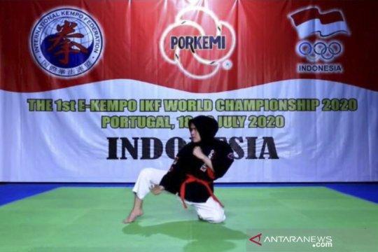 Atlet kempo Indonesia tampil gemilang di kejuaraan dunia