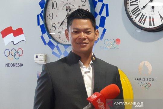 KOI bagikan 1.000 masker kepada federasi olahraga nasional