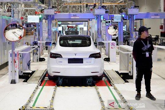 Mobil Tesla segera dilengkapi pemutar musik dari speaker eksternal
