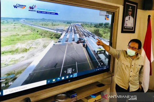 Tol Sidoarjo-Gresik diperkirakan beroperasi pada akhir Oktober 2020