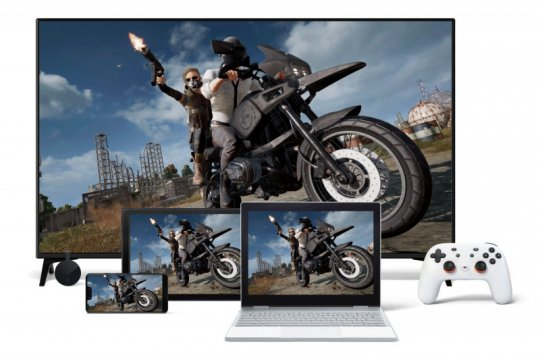 Google Stadia uji streaming game 4G dan 5G