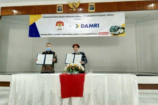 KPK dan Damri sepakati perluas jangkauan kampanye antikorupsi