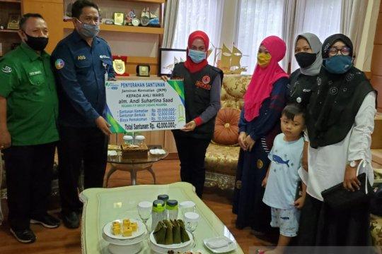 BPJAMSOSTEK Sulawesi Maluku salurkan bantuan Rp67 juta untuk Masamba