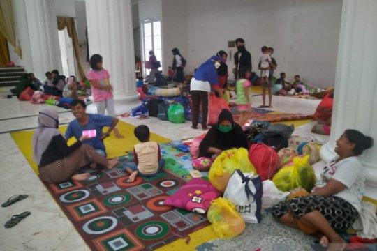 Ratusan orang mengungsi karena banjir di Kota Gorontalo