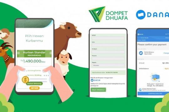 DANA dan Dompet Dhuafa hadirkan solusi kurban digital di masa pandemi