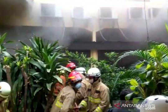 Kepulan asap di RS Polri diduga akibat korsleting