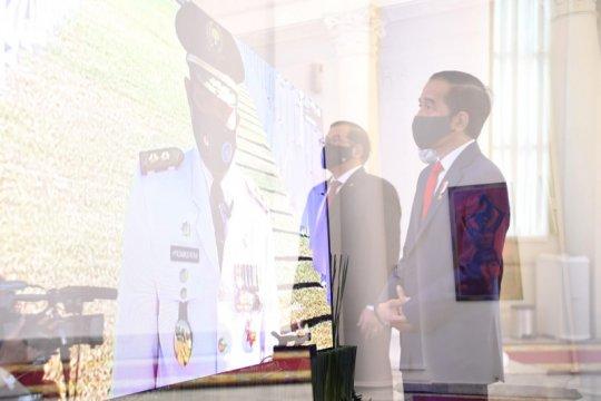Presiden lantik 881 pamong praja muda secara Virtual