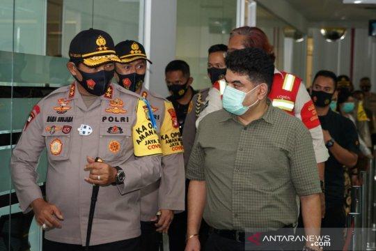 Kapolda Metro lakukan sidak protokol kesehatan di Jakarta dan Cikarang