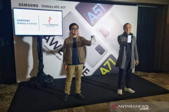 Samsung Galaxy A51 dan A71 ponsel resmi Piala Kemenpora Esports