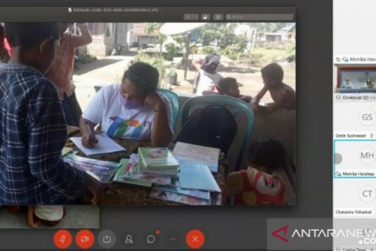Berkat guru, kegiatan membaca tidak terhenti saat pandemi