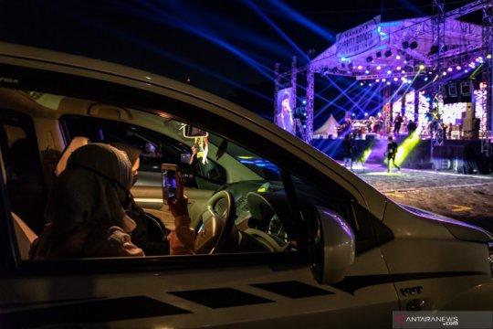 Pemkot Semarang gelar konser musik berkonsep drive-in pertama di Indonesia