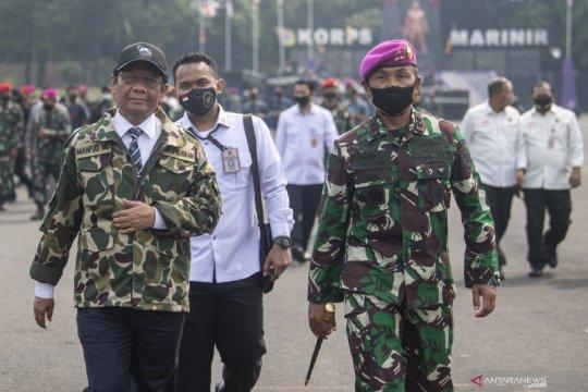 Mahfud: Jangan lagi ada kecurigaaan militer anti-HAM