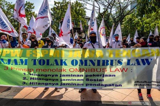 KSPN sebut serikat buruh tidak menolak sepenuhnya RUU Cipta Kerja