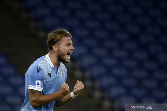 Lazio kembali ke jalur kemenangan setelah tundukkan Crotone 2-0