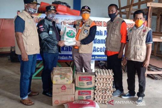 BPBA salurkan bantuan masa panik bagi korban banjir Aceh Jaya