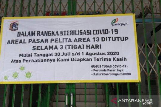 Pasar Pelita di Jakarta Utara ditutup tiga hari
