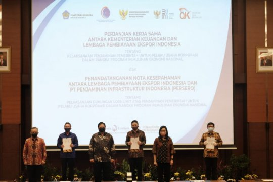 LPEI jalin kerja sama penjaminan dengan Bank BTN