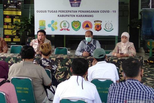 Kasus COVID-19 di Karawang tambah dua orang