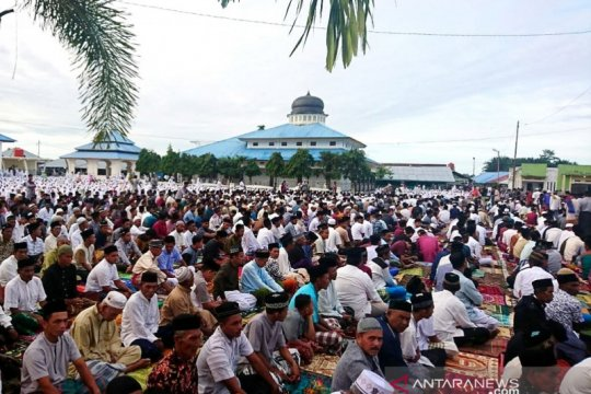 Pengikut Tarekat Syattariyah di Aceh rayakan Idul Adha hari ini