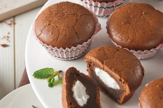 Resep muffin cokelat ricottta untuk rayakan Hari Persahabatan