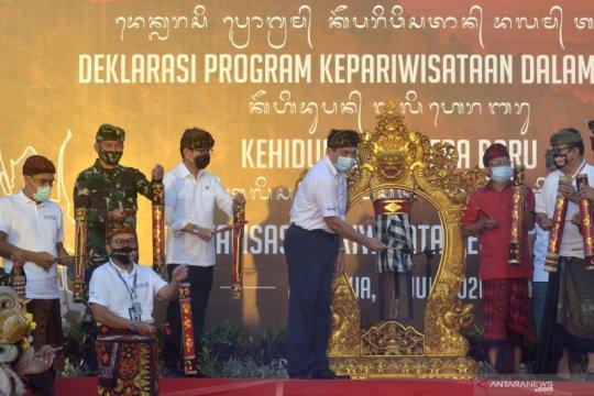 Deklarasi  Program Kepariwisataan Bali dalam Tatanan Kehidupan Era Baru
