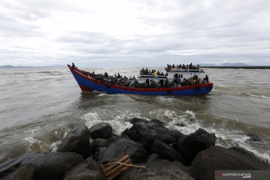 Mudik Idul Adha warga kepulauan di Aceh