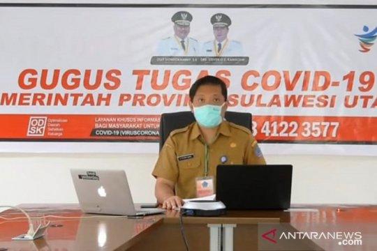 Warga Sulut positif COVID-19 sudah 2.415 orang