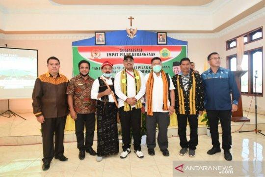 Gus Jazil ajak masyarakat perkuat Pancasila untuk bangun bangsa