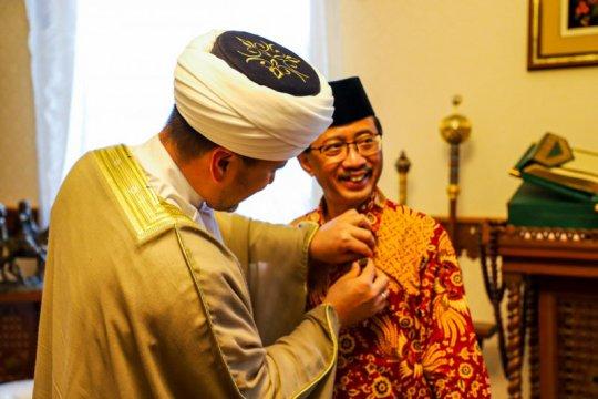 Dubes Wahid terima penghargaan dari Dewan Mufti Rusia