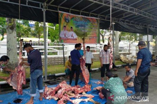 Pemerintah Sumatera Utara bagikan 154 sapi kurban ke 33 daerah