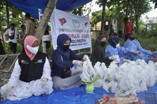 ACT Sulteng bagikan daging 234 hewan kurban kepada warga