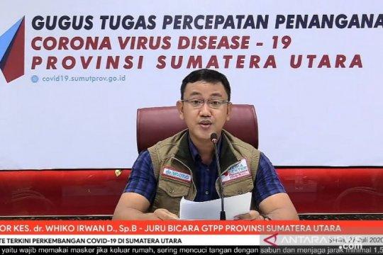 Pasien sembuh COVID-19 di Sumut meningkat tajam menjadi 1.352 orang