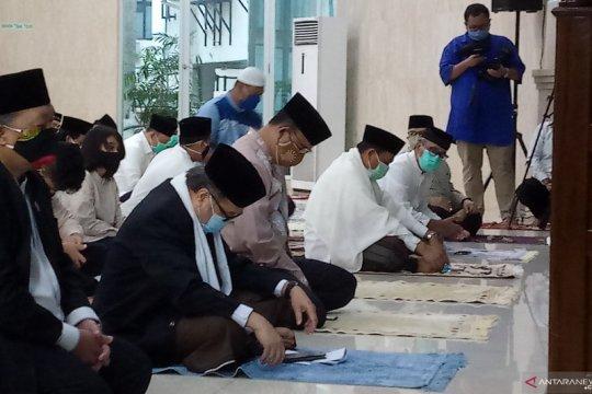 Anies ikuti Shalat Idul Adha di Masjid Fatahillah Balai Kota