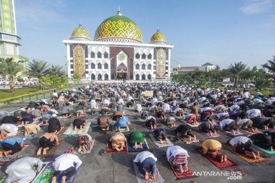 Shalat Idul Adha di Palangkaraya