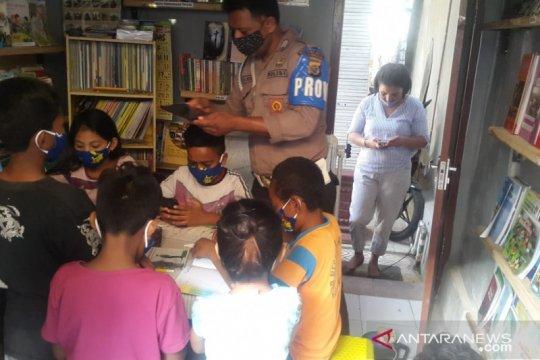 Polisi di Kupang sediakan WiFi untuk belajar daring anak kurang mampu