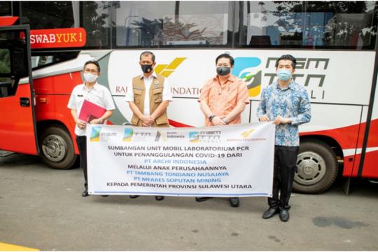 Archi Indonesia beri bantuan mobil laboratorium PCR ke Pemprov Sulut