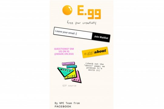 """Website E.gg ingin berikan pengalaman internet """"jadul"""""""
