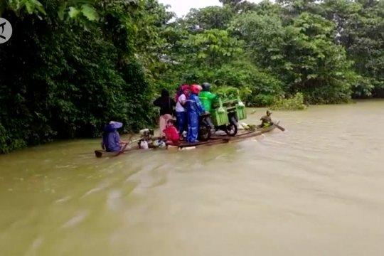 Banjir kembali rendam enam desa di tiga kecamatan di Konawe Utara